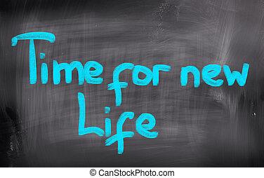 新しい生命, 概念