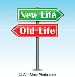 新しい生命, 矢