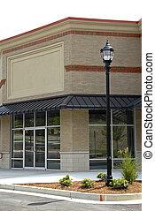 新しい, コマーシャル, office-retail, スペース