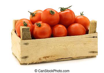 新しい トマト, 上に, ∥, つる