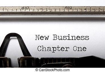 新しい ビジネス