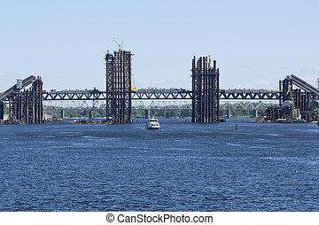 新しい, 作られた, 橋