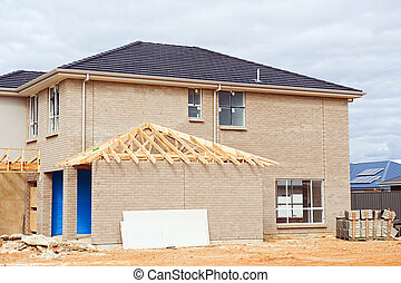 新しい 家, 建設