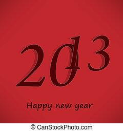 新しい, 幸せ, 2013, 年