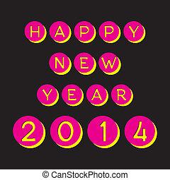 新しい, 幸せ, 2014, 年