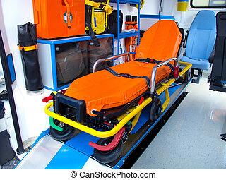 新しい, 救急車