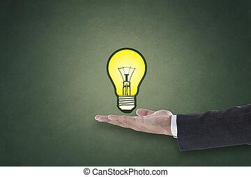 新しい, 概念, 考え, ビジネス