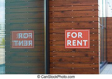 新しい, 賃貸料, 建物