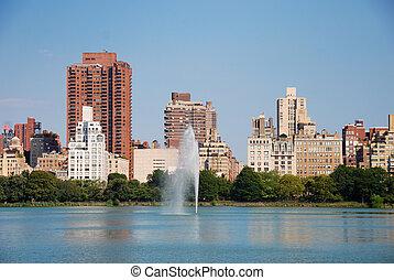 新しい, 都市 公園, 中央である, ヨーク