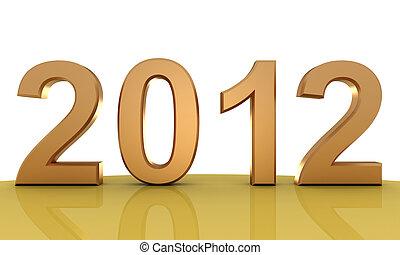 新しい, 2012, 年