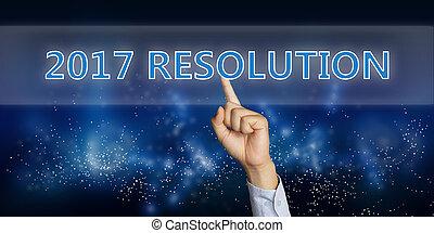 新しい, 2017, resolutions, 年