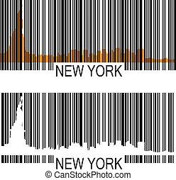 新しい, barcode, ヨーク