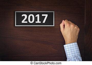 新しい, resolutions, 2017, ビジネス, 年