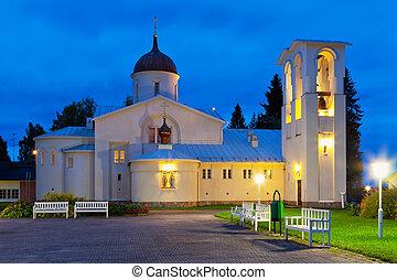 新しい, valaam, フィンランド, 修道院