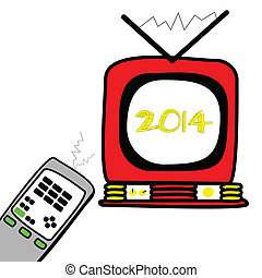 新しい, year!, 2014