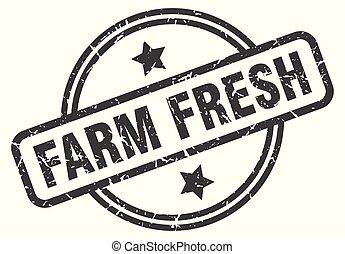 新たに農場で働きなさい, 切手