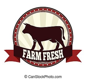 新たに農場で働きなさい, 牛肉, ラベル