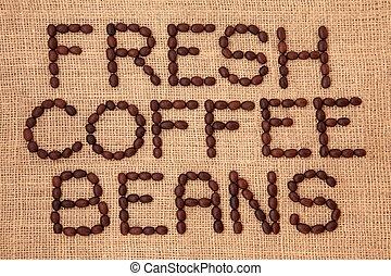 新たに, コーヒー豆