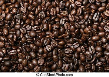 新たに, コーヒー豆, 背景