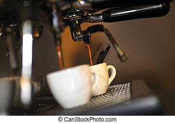 新たに, コーヒー