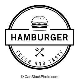新たに, 味が良い, バーガー