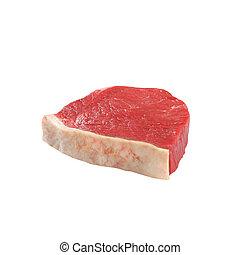 新たに, 白 肉, 背景, 隔離された
