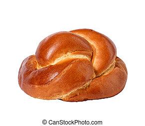 新たに, 白, 隔離された, bread.