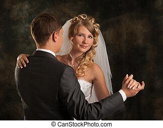 新娘和新郎, 跳舞