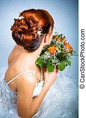 新娘, 發型