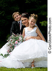 新娘, 白色