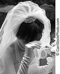 新娘, 臉紅