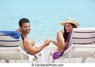 新婚旅行, 女, 人, キューバ