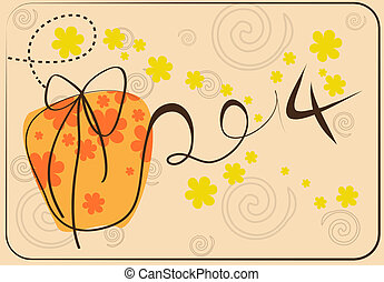 新年おめでとう, カード