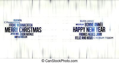 新年おめでとう, クリスマス