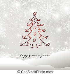 新年おめでとう, グリーティングカード, ベクトル, イラスト