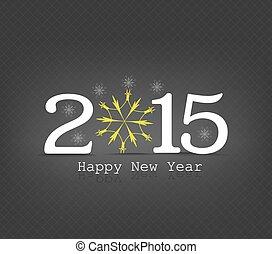 新年おめでとう, 雪片