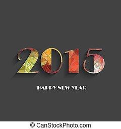 新年おめでとう, 2015, 創造的, greeti