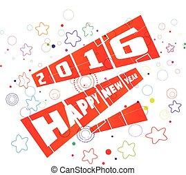 新年おめでとう, 2016, グリーティングカード