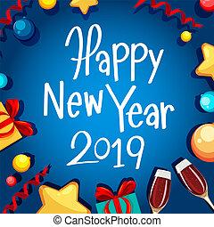 新年おめでとう, 2019, カード