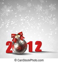 新年, クリスマス, ホリデー