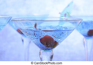 新年, パーティー, 飲み物