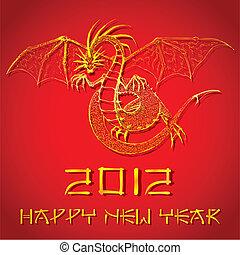 新年, 中国のドラゴン