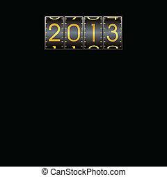 新年, 作为, 代码