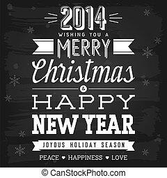 新年, 挨拶, クリスマス