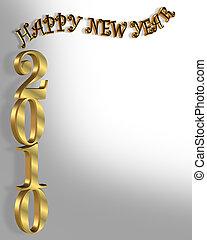 新年, 2010, 背景