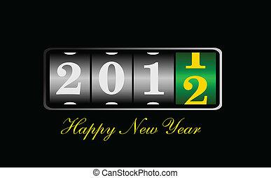 新年, 2012, 插圖