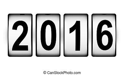 新年, 2016, 概念