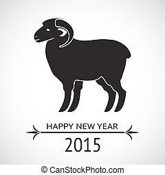 新年, sheep
