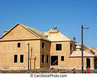 新的家, 建設