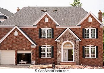 新的家, 建设